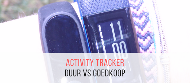 Dure vs goedkope activity tracker (oftewel Garmin Vivosmart HR+ vs Xiaomi Mi Band 2)