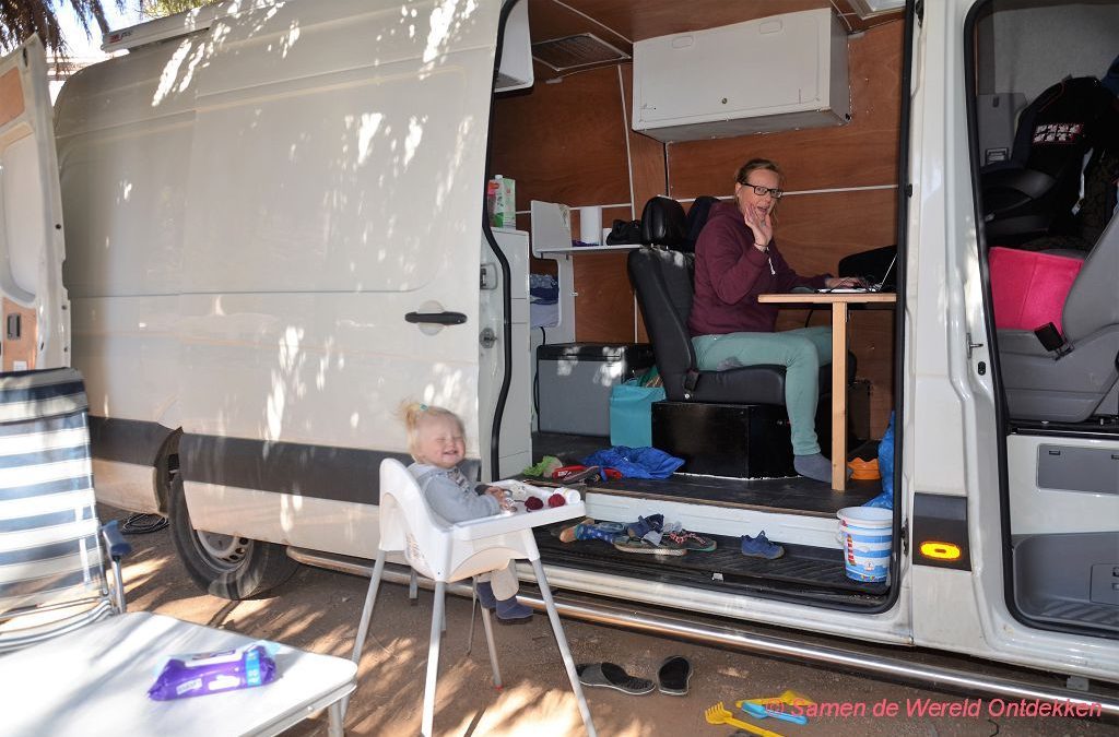 Internet in de camper voor digital nomads